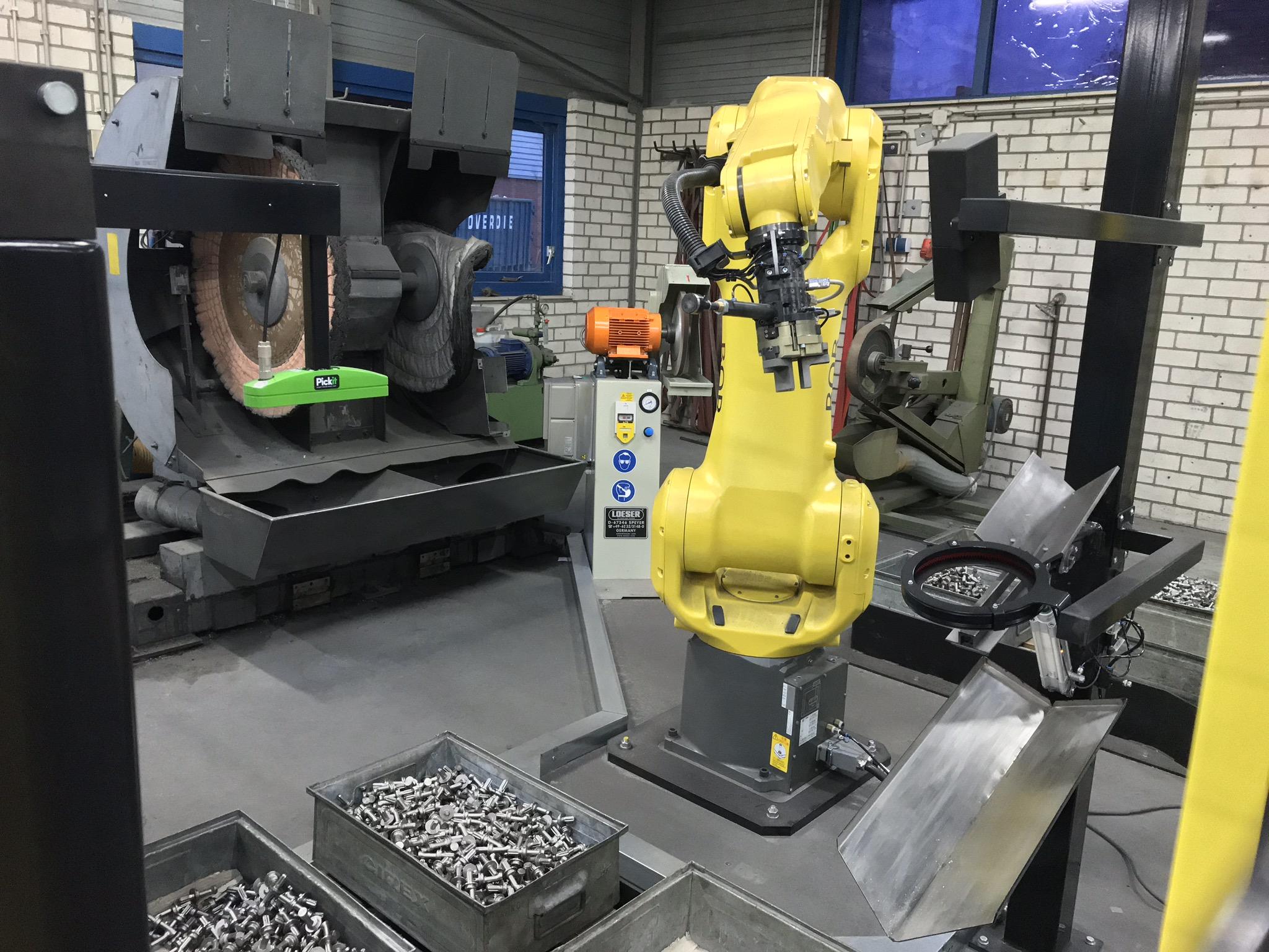 Automatisiertes Roboterschleifen Polieren