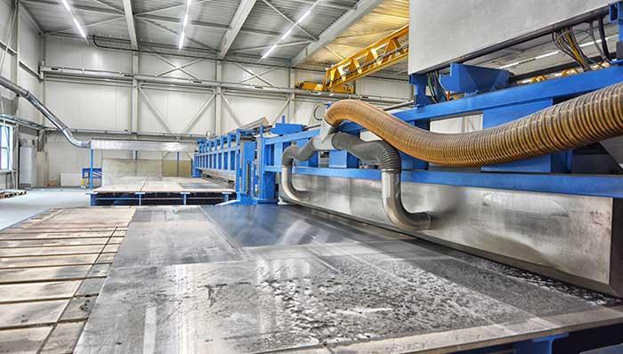 Ons machinepark voor het slijpen en polijsten van metalen