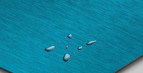 SATIN 1 Deep Blue nanoINOX