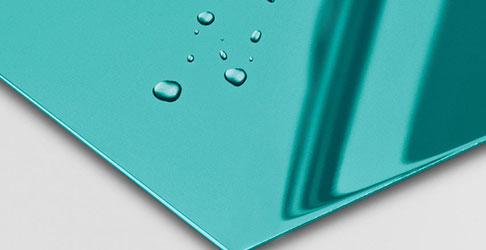 Super Mirror No 8 Blue Electrum nanoINOX