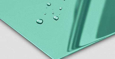 Super Mirror No 8 Green Electrum nanoINOX