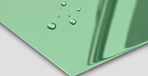 Super Mirror No 8 Spring Green nanoINOX