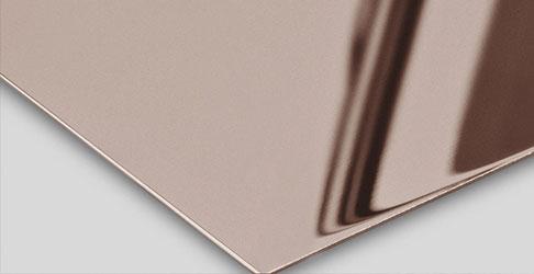 Super Mirror No 8 Bronze-TiN