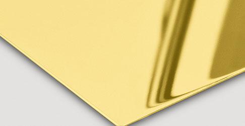 Super Mirror No 8 Gold-TiN